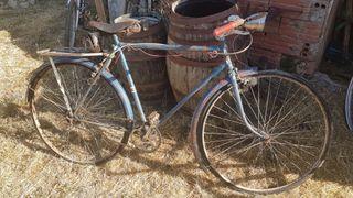 Bicicleta Orbea antigua.