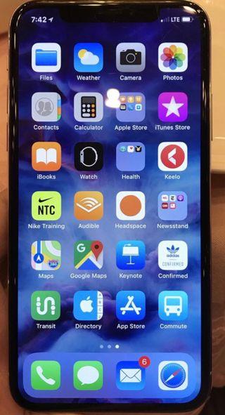 IPhone X en negro