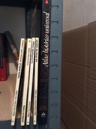 Atlas histórico universal + 5 libros historia