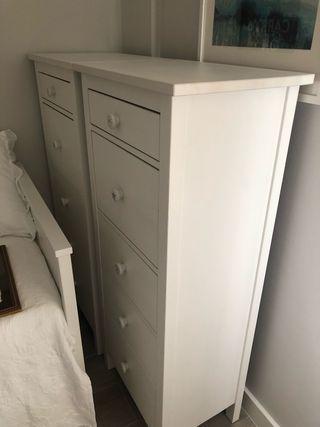 """Cómoda 5 cajones """" Hemnes """" de Ikea"""