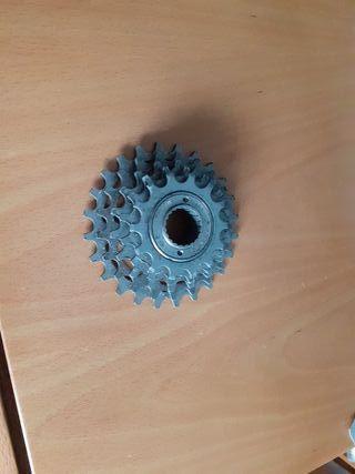 Casette piñones bicicleta carretera