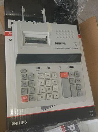 calculadora PHILIPS con impresora