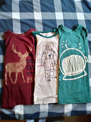 Camisetas manga larga talla 3 4 años