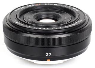 Objetivo Fujifilm Fujinon Xf27Mm F2.8 Negra