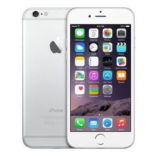 iPhone 6/64gb plata + cargador trenzado 3.0