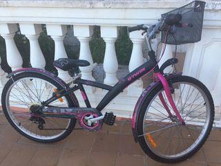 """bicicleta niña 24"""""""