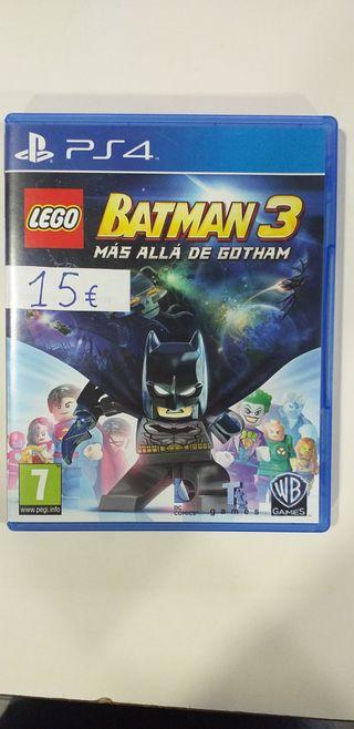 Lego Batman 3 Mas alla de3 Gotham PS4
