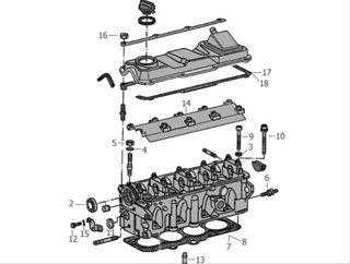 culata motor pb