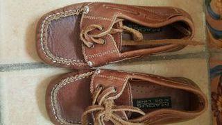 Zapatos de verano náuticos niño talla 27