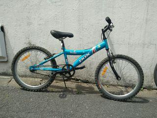 Bicicleta niño azul