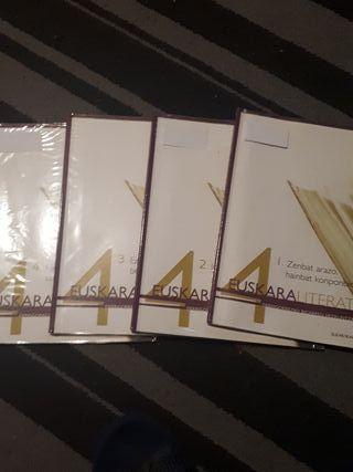 Libros 4° ESO Euskara literatura Elkar