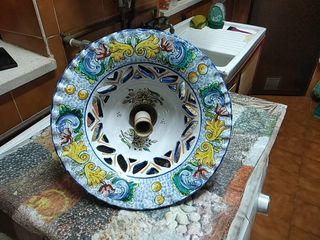 lámpara ceramica