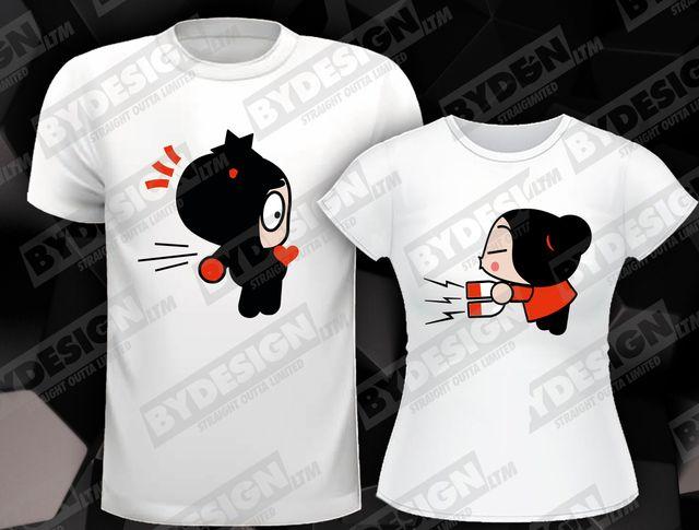 disfruta de precio barato precio limitado mujer Camiseta personalizadas regalo parejas, novios. de segunda ...