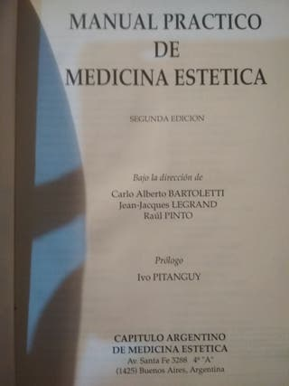 Manual práctico de medicina estética