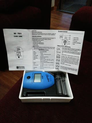 medidor de cloro automatico