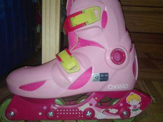 patines en linea y protectores