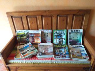 Revistas decoración casa campo rusticas
