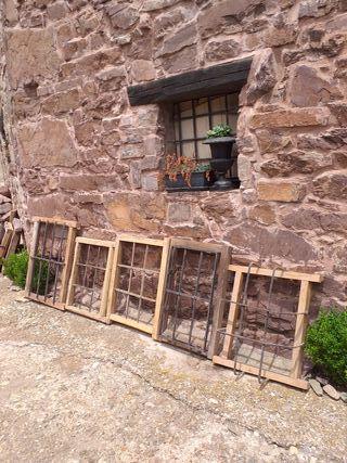 Ventanas reja antiguas decoración