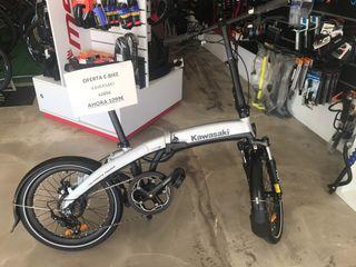 E-bike kawasaki plegable