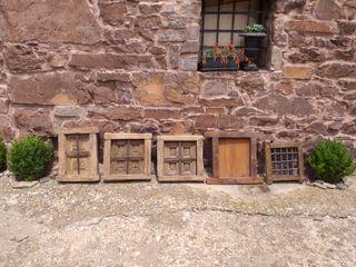 ventana antigua reja decoración rústicas