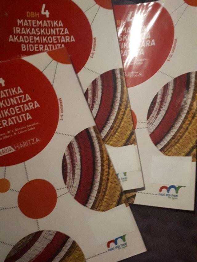 Libros 4° ESO Matematika Anaya