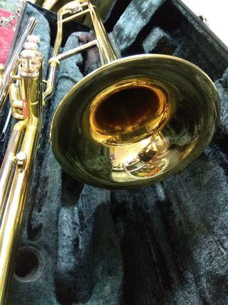 Trombón Yamaha en Do de pistones