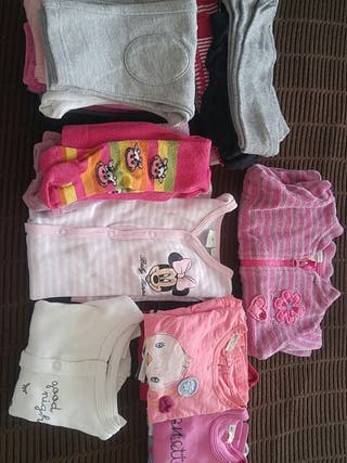 Pack ropa bebe niña 3 meses