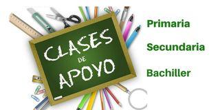 Clases de refuerzo para Primaria/ESO/Bachillerato