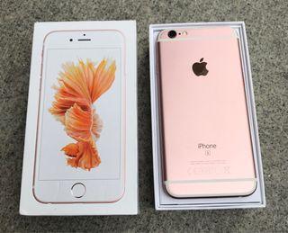 IPHONE 6S ROSA (PERFECTO ESTADO ORIGINAL 100%)