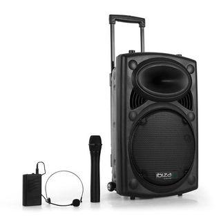 "ALTAVOZ Ibiza Sound PORT12 VHF-BT 12""- 700w"