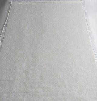 Estor blanco con dibujos - 123cm de ancho