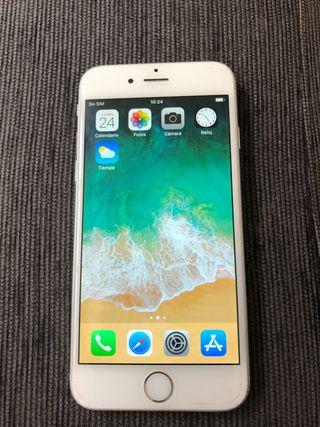 Iphone 6 blanco. 16gb