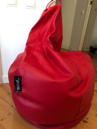Puff sillón sofá pera marca Mipuf XL está nuevo