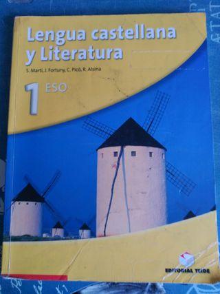 Libro de lengua y literatura de 1 eso