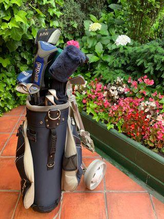 Juego de palos golf mujer PING