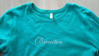 Camiseta manga larga niña Benetton
