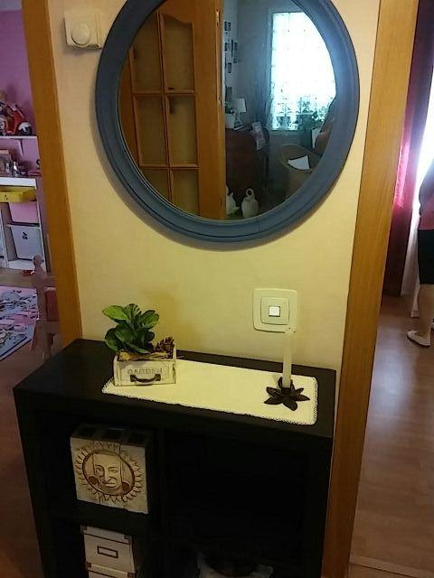 Espejo y mueble recibidor