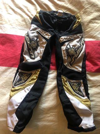 Pantalones moto infantil