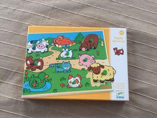Puzzle Djeco madera Normandie