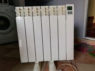 Radiador eléctrico con climatizador