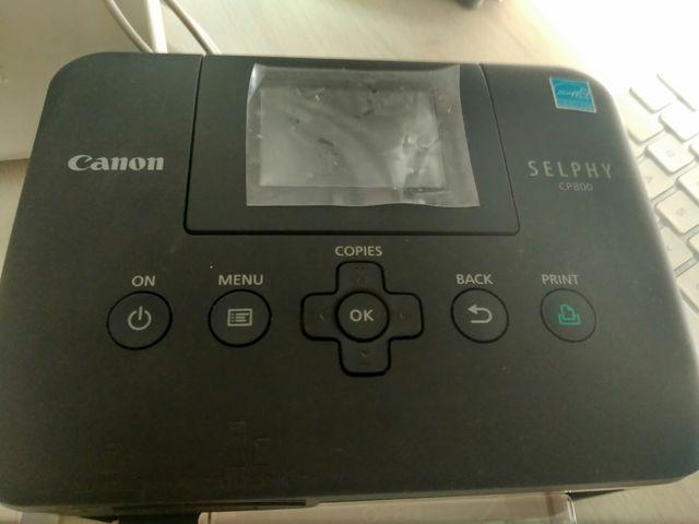 Impresora fotos color canon portátil