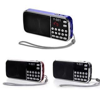 FM Radio portátil Audio Digital reproductor de mús