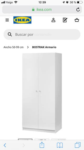 Ikea Mano Valencia Segunda En 50 Bostrak Wallapop De € Armario Por OkZlwPiTXu