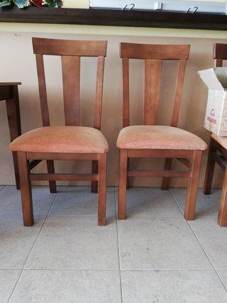 sillas de restaurante tapizadas