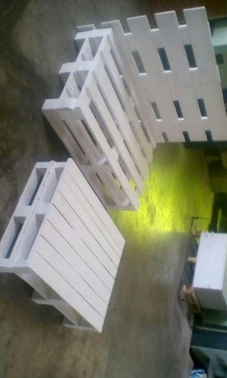 sofa y mesa palets