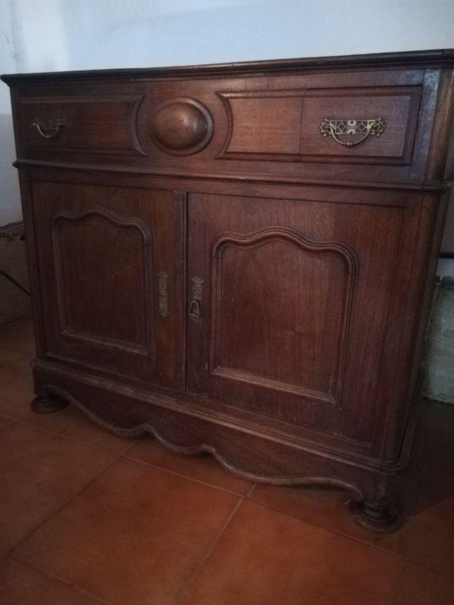 Mueble de lavabo antiguo francés