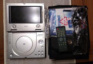 reproductor DVD portátil Airis