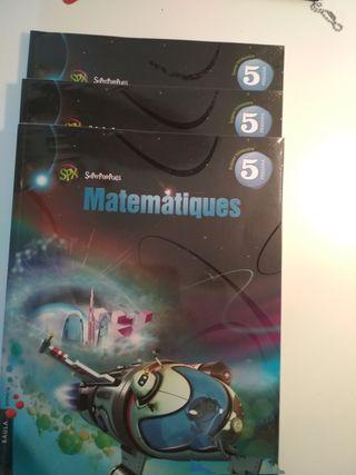 Libro Matemáticas 5o Primaria