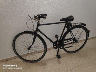Junto a Retiro,bicicleta de paseo