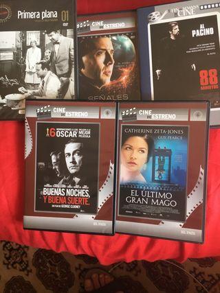 Lote 5 DVD Cine El País